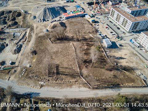 Gartenbauarbeiten am Karl-Marx-Ring Neuperlach