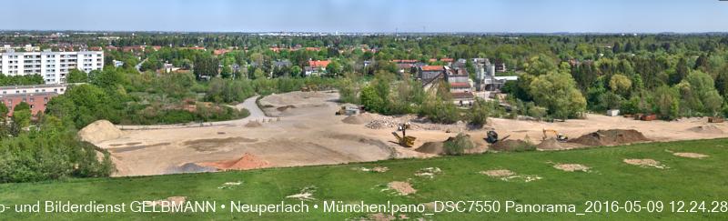 Zum Piederstorfer Gelände in Neuperlach