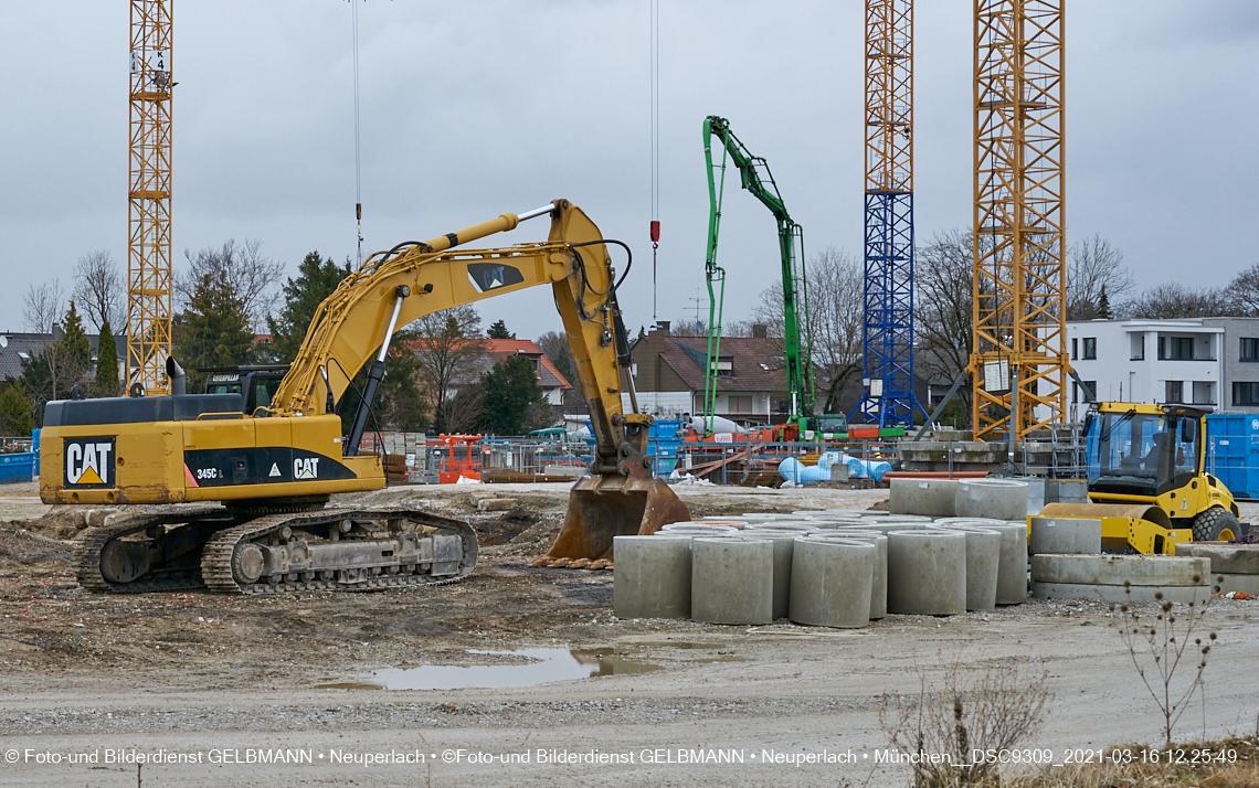 Baustelle Alexisquartier - Das Duett