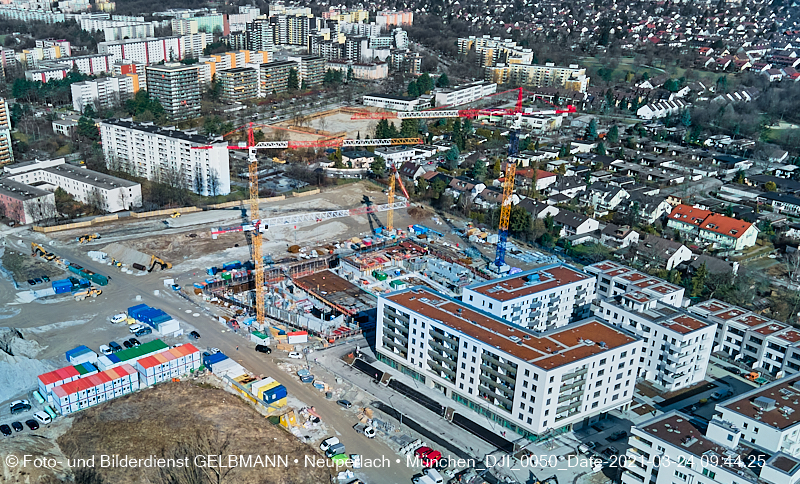 yellow-fly zeigt die Baustelle Alexisquartier