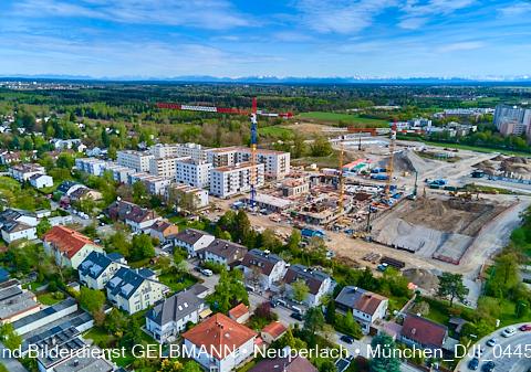 Baustelle Perlach Plaza in Neuperlach