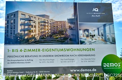 neuperlach.org.gelbmann.org zeigt die Baustelle Alexisquartier in Neuperlach