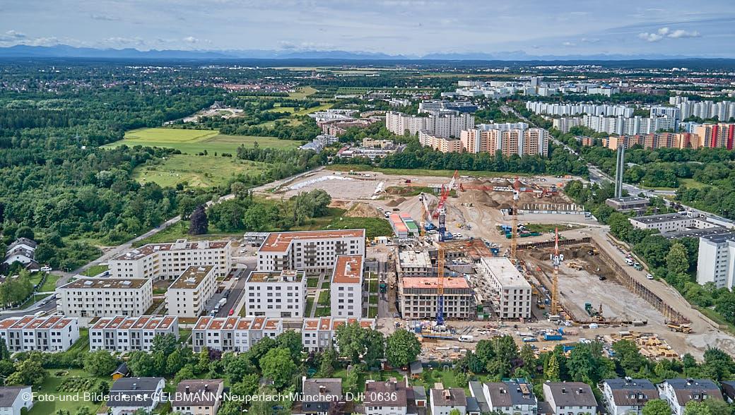 01.07.2021 - neuperlach.org.gelbmann.org zeigt Impressionen vom Neubau des Hotel Königshof München