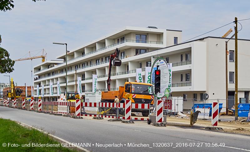 DEMOS - Baustelle Hochäckerstraße